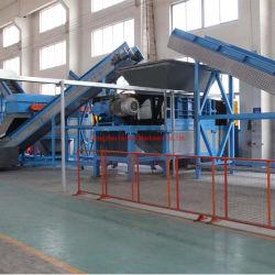 Poudre de ligne de production de déchets de caoutchouc Pneu en caoutchouc concasseur de machine de recyclage de pneus de caoutchouc
