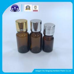 Bernsteinfarbige Glasflaschen für wesentliches Öl mit Absinken von Flug