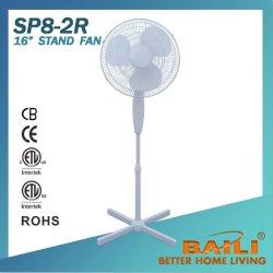 16 Zoll-elektrischer Ventilator mit unveränderlicher runder Unterseite