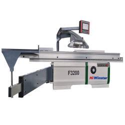 F3200 목공 기계장치 자동적인 위원회는 기계가 판매를 위해 목제 담 탁상에 놓기 위하여 CNC 목제 절단기를 보았다는 것을 보았다