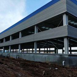 Baixo custo de Estrutura de aço de farol H Prefab construções prefabricadas da estrutura metálica do Prédio de Depósito de Armazenagem Galpão Casa construção de telhados