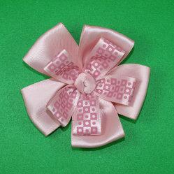 Xmas 선물 상자 판지 산타클로스 리본 훈장 로고 도매 선물 포장 리본과 활