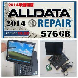2016 Software di riparazione automatica Alldata 10.53+Mitchell Demand Alldata laptop