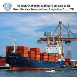 Ocean FCL, envíos de entrega del transportista y camiones de servicio (20''40'')