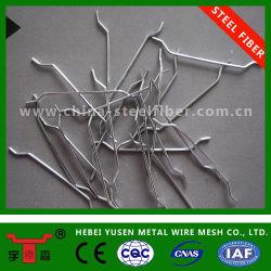 Concreto reforzado de acero al carbono fibras de acero