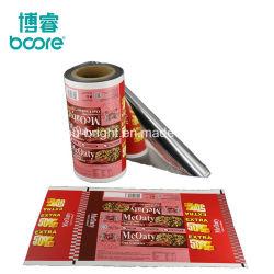 Grau alimentício Snack Laminação BOPP embalagens de plástico filme para pão de chocolate
