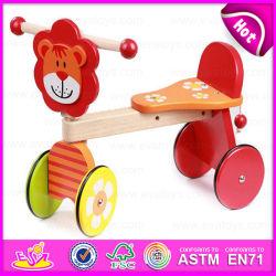 2015 لعبة بيبي تريك تويز للأطفال، دراجة ثلاثية لدراجة ذات سلامة رخيصة للأطفال، لعبة ليون ديسجن الخشبية للأطفال ثلاثية العجلات W16A014