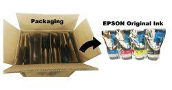 Epson Surecolor Fシリーズ昇華プリンターのEpsonの元のインク(カートリッジインクチップが付いている袋のパッケージ)のためのC M Y Bk Hdk