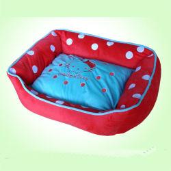 Muebles mascotas ropa de cama para perros y gatos de color rosa (SXBB-297)