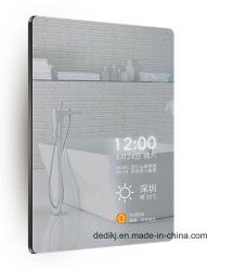Dedi浴室の銀製ミラーTV