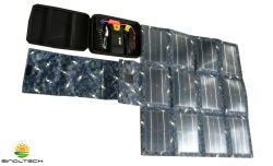 Военного стандарта 30W складная гибкие CIGS солнечного зарядного устройства в комплекте (SP-030K)