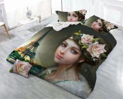 Мягкие кровати текстильной промышленности лист реактивная печать постельное белье, кровати в мастерской