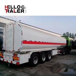 Топливозаправщик тепловозного топлива масла алюминиевого сплава 3 Axle