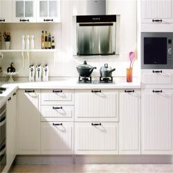 Ontwerpen van de Keuken van het Membraan van pvc de Kleine met Marmeren Countertop