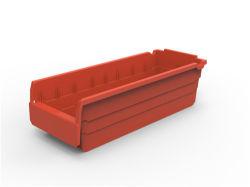 El conjunto de plástico de la caja de almacenamiento de almacén de piezas de repuesto para organizar