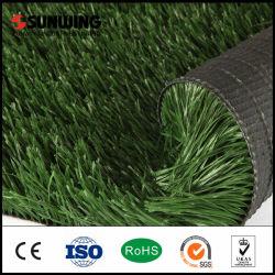 Meilleur terrain de soccer synthétique naturel de l'herbe pour le football