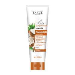 Tazol deixe no condicionador de cabelos cosméticos Cuidados com o cabelo de coco