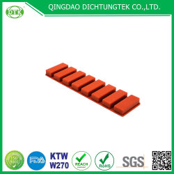 製造の供給によってカスタマイズされる完全な圧縮の蒸気の抵抗の無毒なシリコーンゴムの部品