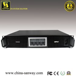 2ом DJ микшер оборудования 1W при 1 Кгц Профессиональные аудио усилитель мощности (Sanway Swithing FB-6KQ)