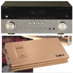 HiFi Home Cinema karaoké stéréo Bluetooth / amplificateur de puissance audio de voiture