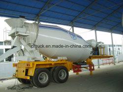 Betoniera semi-rimorchio per calcestruzzo con motore diesel in vendita a caldo 8 cbm 10cbm Generatore