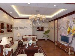 precio de fábrica Buwei WPC el revestimiento de madera compuesto de plástico material decorativo Panel de pared