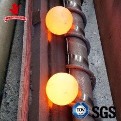 La sfera d'acciaio del pezzo fuso/ha forgiato la sfera d'acciaio/sfera d'acciaio stridente di laminazione a caldo