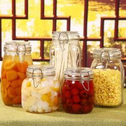 Frasco de vidro promocional do potenciômetro de Vedação Spice Misturador de compota de comida caneca com a marca do OEM