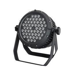 Светодиодный индикатор PAR 54ПК*3W 3в1 Полноцветный DMX лампа