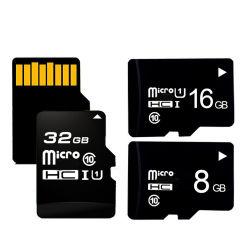 OEM de gros de la capacité réelle de la carte mémoire SDHC 16 Go 8G 32 Go de carte Microsd