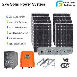 5kw het Systeem van de Energie van het Huis van de Batterij van het Zonnepaneel van het Gebruik van het Huis van 10 KW