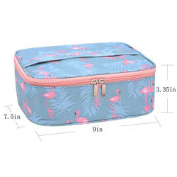 流行の着色されたハンド・バッグの装飾的な洗浄袋の袋(FWB-017)