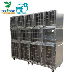 Tierärztekrankenhaus Medical Stainless Steel Pet Dog Vogelkäfig