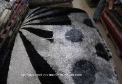 Durável 2000g/m² de veludo de poliéster macio Shaggy Home Carpet