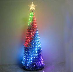 Neues angekommenes RGB-feenhaftes Pixel-Baum-Licht stellte mit Colltroller ein