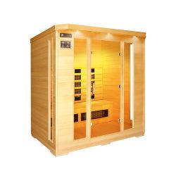Sala de Sauna de madeira de cedro independente para banheiro