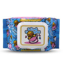 Bébé lingettes humides Usine de produits de soins pour bébé