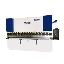 Ysdcnc NC 100t3200のシート・メタルの曲がることのための油圧鋼板自動E21システム出版物ブレーキ
