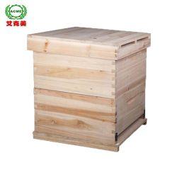 Venta caliente equipo apícola de la colmena de madera de cedro