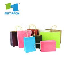 Novo Design Preto Frio personalizados sacos de papel de embalagem Saco de armazenamento