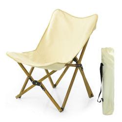 Novo e fácil para Dobrar Camping Praia Cadeira de alumínio dobrável