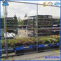 Kettenlink-Zaun/Stahl-/galvanisiert/Sicherheit/temporärer Zaun für Industrie/Verkauf/Werbung