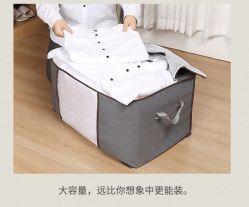 Speicherbeutel-Baumwollsteppdecke-Speicher-Beutel-kleidet die bewegliche Verpackungs-Beutel-Kleidung, die Beutel sortiert, Gepäck-Beutel-nicht gesponnenen Steppdecke-Speicher