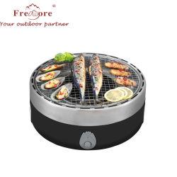 Asado de eléctrico Horno eléctrico sin humo en el hogar de pan tostado Pan Grill coreano Non-Stick Rack de peces comerciales