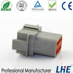 Te Ifaf 16949 DT04-8P Auto Accesorios Eléctricos Conector impermeable