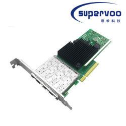 PCIが3.0 X8イーサネットをネットワークアダプタ表現するX710-Da4 10gbps 4ポートは一点に集中した