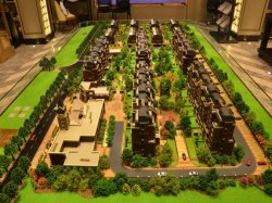 Modelo de Marketing Imobiliário fazendo