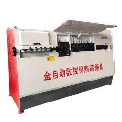 월간 딜 자동건설 CNC 철강 리바 스터럽 Bender 기계