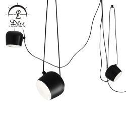 Design Moderno pingente de Metal Lamp Lustre LED
