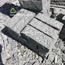 De natuurlijke Gespleten Ananas beëindigt G654 Donkere Grijze Kerbstone van het Graniet, Palissade, de Post van het Graniet, het Schermen van de Tuin
